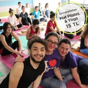 universiteli ogreci kampanyasi mat pilates yoga dersi indirim bodyfit nisantasi